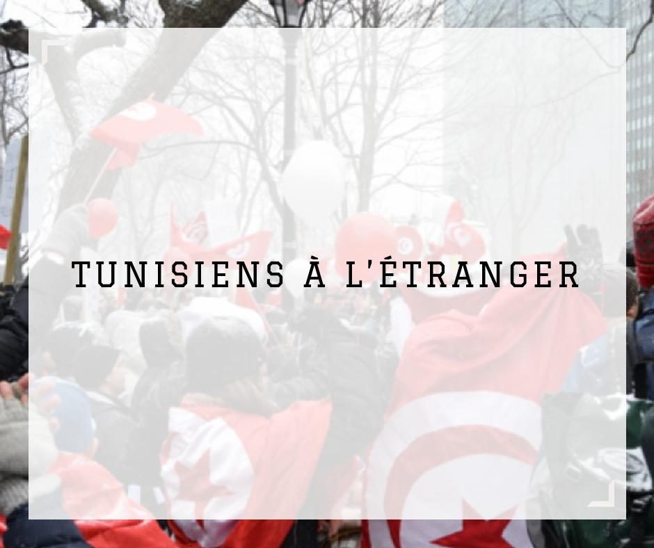 Tunisiens à l'étranger